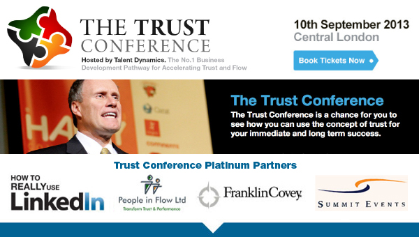 The Trust Conference. 10th September 2013